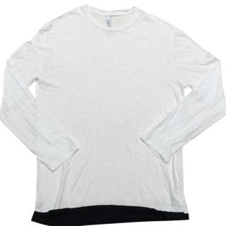 Neil Barrett Long Sleeve White Shirt