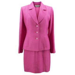 Yves Saint Laurent Vintage Pink Dress Suit