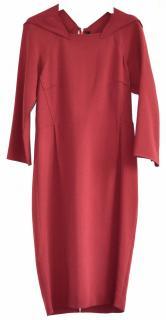 Roland Mouret red dress