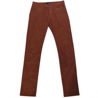 The Kooples Brown Corduroy Trousers