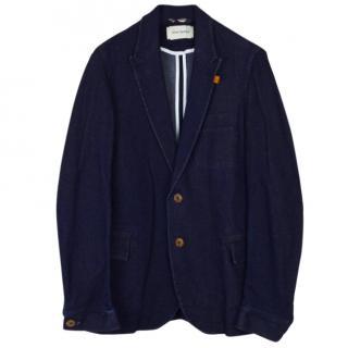 Oliver Spencer Navy Cotton Jacket