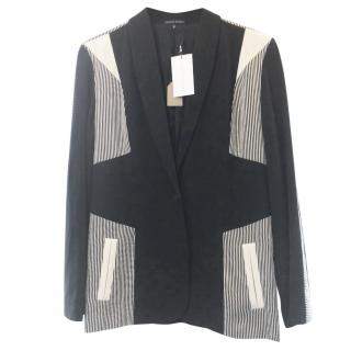 Jonathan Saunders Fitted Black/White Jacket