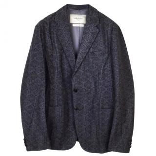 Casely-Hayford grey and black cotton jacket