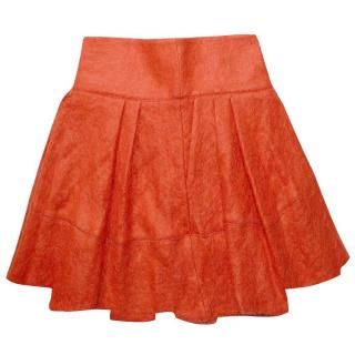 Markus Kupfer Hazy Mohair Pleated SkirtSkirt