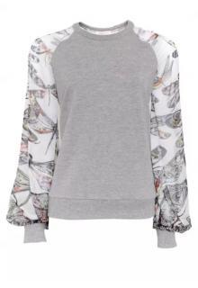 Matthew Williamson Butterflies Sweatshirt