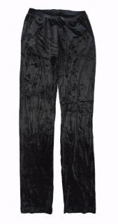 Versace velour trousers