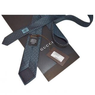 Gucci Patterned Silk Scarf