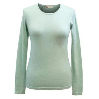 Colombo Green Cashmere Top