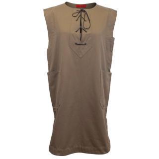 Carolina Herrera brown dress