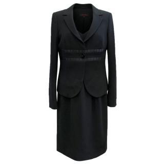 Escada Black dress and blazer