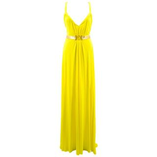 Versace Collection Yellow Gown