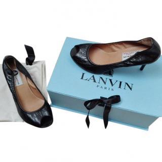 Lanvin ballerina heels/pumps