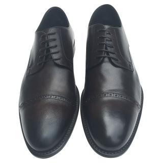 Hugo Boss black/brown two tone brogues