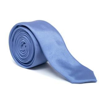 Prada Light Blue Silk Tie