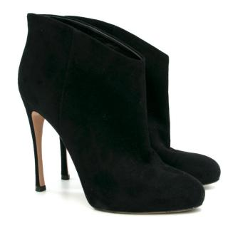 Gianvito Rossi Black Heeled Ankle Boots