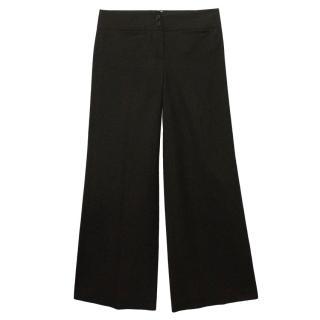 Chloe Black Flared Trousers
