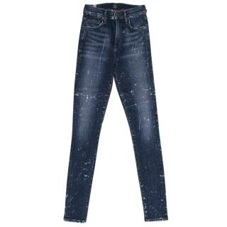 Citizens of Humanity Paint Splatter Skinny Jeans
