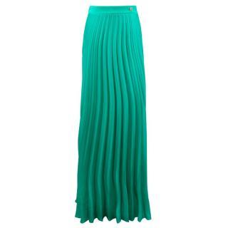 Classic Roberto Cavalli Long Green Skirt