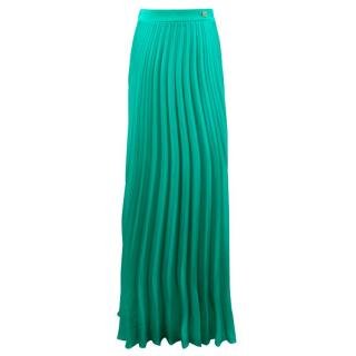 Classic Roberto Cavalli Long Green Skirt