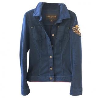 Louis Vuitton blue cotton jacket