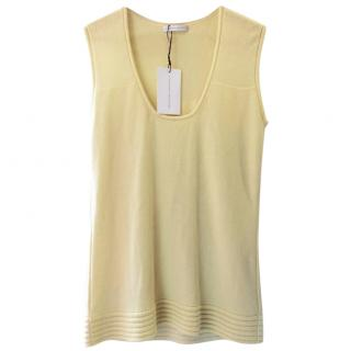 Jonathan Saunders Knitted Yellow Top