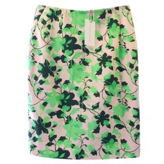 Jonathan Saunders Flora Print Skirt