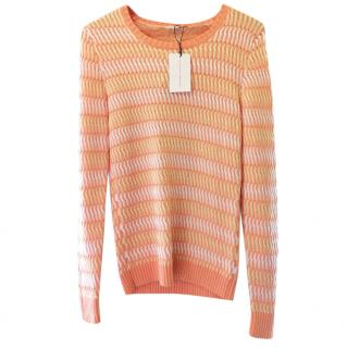 Jonathan Saunders Maryse Knitted Cotton Jumper