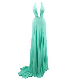 Bespoke Mint Green Gown