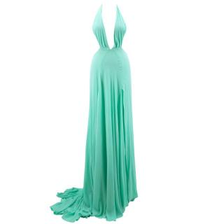 Bespoke Mint Green Gown