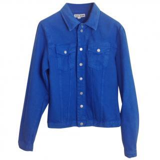 Acne blue denim jacket