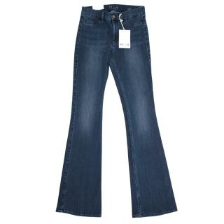 Mih Mid Rise Kickflare Jeans