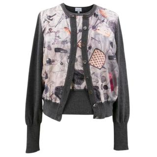 Paul Smith Pattern Top and Cardigan set
