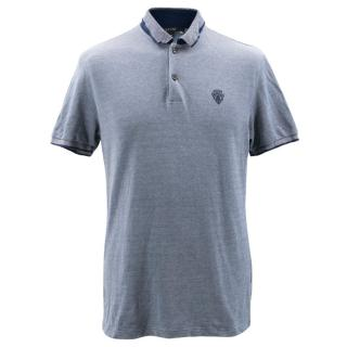 Gucci Blue Polo Top