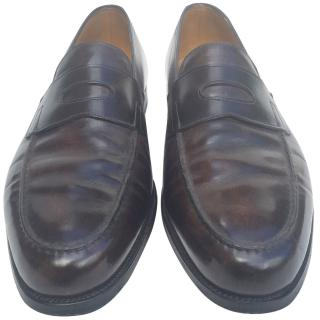 John Lobb Brown Loafers