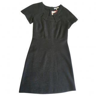 See by Chloe black lurex dress