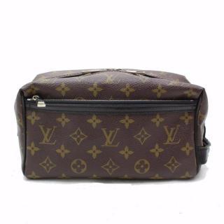 Louis Vuitton Trousse Toilet Macassar 10582 Monogram Pouch