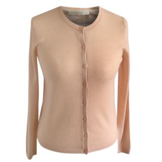Hugo Boss peach cardigan