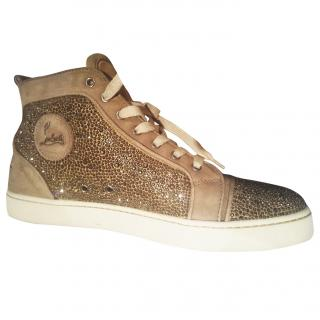 Christian Louboutin Men's Crystal Sneakers