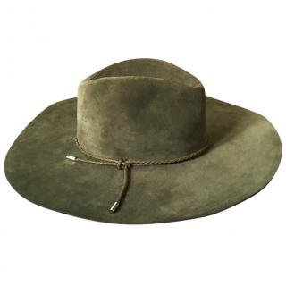 Emilio Pucci Suede Hat