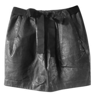 3.1 Phillip Lim Leather Mini Skirt