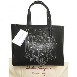 92db421234 Salvatore Ferragamo Leather Tote