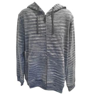 Missoni Mens Space Dye Full Zip Hoodie