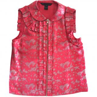 Marc by Marc Jacobs Pink Silk Blouse