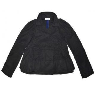 SONIA RYKIEL Black double breasted cotton jacket