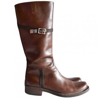 Prada brown boot