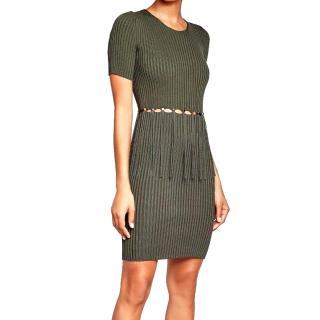 Alexander Wang Green Knit Dress