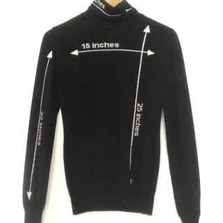 Moschino Couture Black Polo Neck Jumper