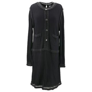 Chanel Knit Black Dress