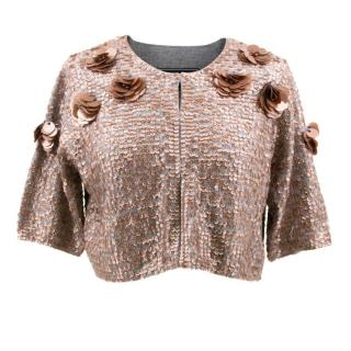 Malene Birger Sequin Cardigan