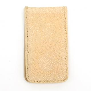 The Clerkenwell Collection Beige Money Clip